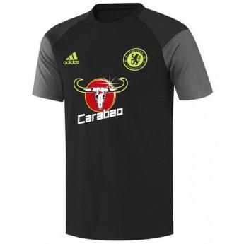 FC Chelsea czarny męski t-shirt carabao