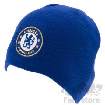 Chelsea czapka zimowa blue logo
