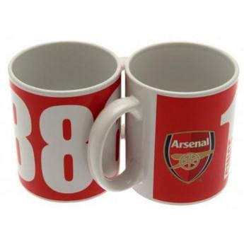 FC Arsenal kubek ceramiczny club 1886