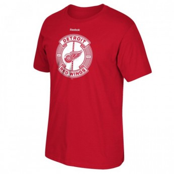 Detroit Red Wings koszulka męska Slick Pass Tee