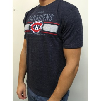 Montreal Canadiens T-shirt Team Stripe Overlay