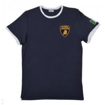 Lamborghini t-shirt blu