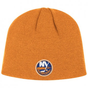New York Islanders czapka zimowa orange Basic Logo Scully