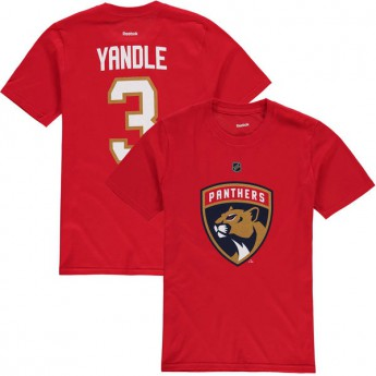 Florida Panthers koszulka dziecięca red Keith Yandle Name & Number
