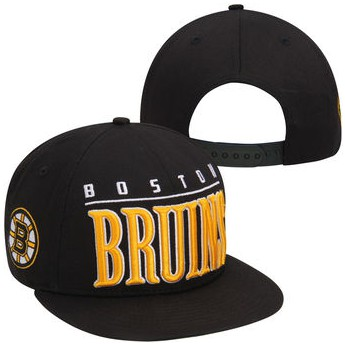 Boston Bruins czapka Big Word
