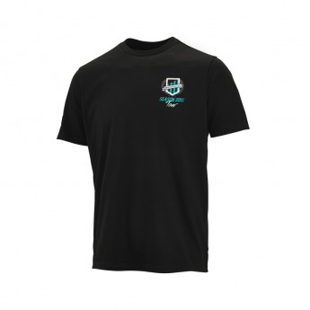 Koszulka t-shirt męska Tour czarna Mercedes AMG Petronas F1 Team