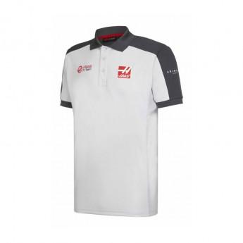 Haas F1 Team męska koszulka polo grey 2016