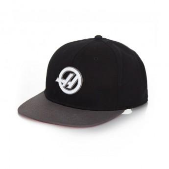 Haas F1 czapka flat baseballówka Brim black 2016