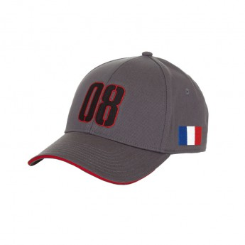 Czapka baseballowa Grosjean Haas F1 Team 2016