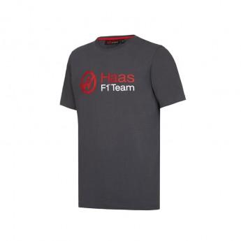 Haas F1 koszulka dziecięca Logo grey 2016