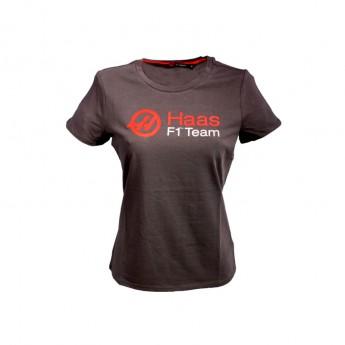 Koszulka t-shirt damska Logo Haas F1 Team 2016