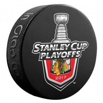 Chicago Blackhawks krążek 2017 Stanley Cup Playoffs Lock Up
