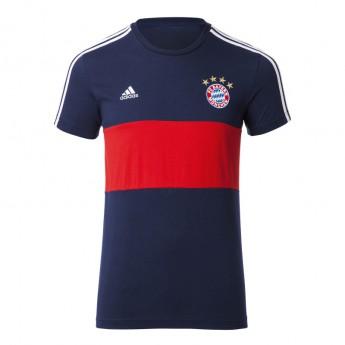 Bayern Monachium t-shirt męski 3S blue-red 1