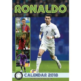 Cristiano Ronaldo kalendarz 2018 (29,7 x 42 cm) A3