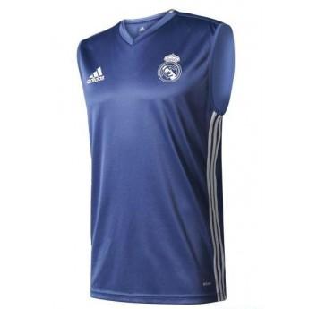 Real Madrid męski podkoszulek treningowy trg blue