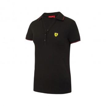 Polo damskie Classic black Ferrari F1 Team 2017