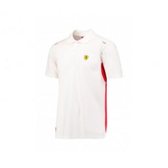 Koszulka polo męska Kimi biała Scuderia Ferrari F1 Team 2017