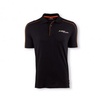 Koszulka polo męska Fan czarna Sahara Force India F1 Team 2016