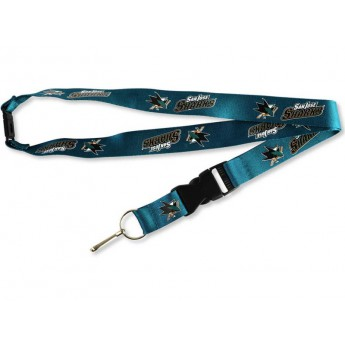 San Jose Sharks smycz Team Lanyard Multicolor