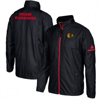 Chicago Blackhawks kurtka męska black Authentic Rink Full-Zip Jacket