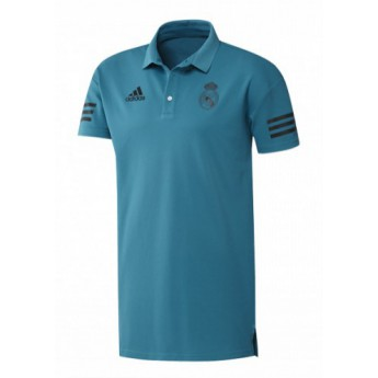 Real Madrid męski polo presentation blue