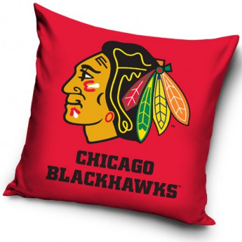 Chicago Blackhawks poduszka logo