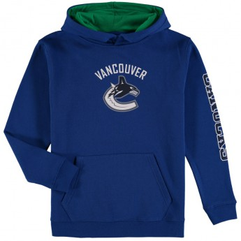 Vancouver Canucks Bluza dziecięca blue NHL Zone Fleece