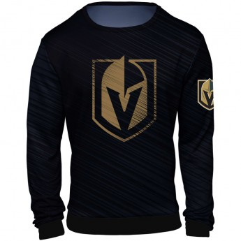 Vegas Golden Knights bluza męska black NHL Static Rain