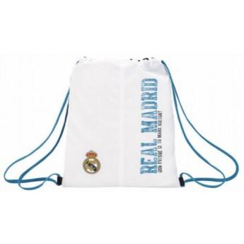 Real Madrid worek gym bag white history