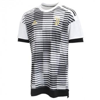 Juventus piłkarska koszulka meczowa 17 pre-match
