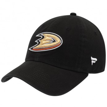 Anaheim Ducks dziecięca czapka baseballowa black NHL Fundamental Adjustable