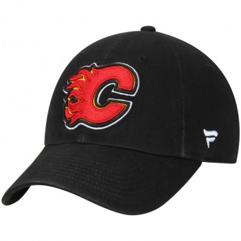 Calgary Flames dziecięca czapka baseballowa NHL Fundamental Adjustable