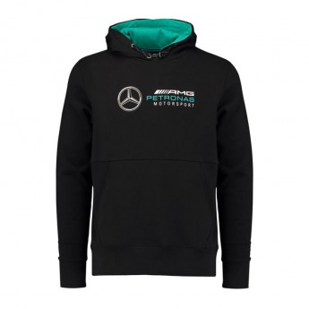 Mercedes AMG Petronas męska bluza z kapturem black F1 2018