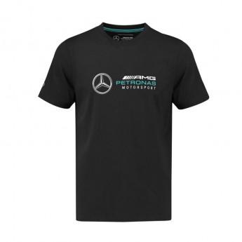 Mercedes AMG Petronas koszulka męska Logo black F1 Team 2018