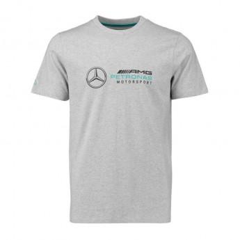 Mercedes AMG Petronas koszulka męska Logo grey F1 Team 2018