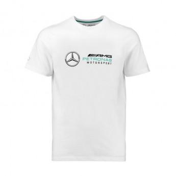 Mercedes AMG Petronas koszulka męska Logo white F1 Team 2018
