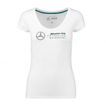 Mercedes AMG Petronas koszulka damska logo white F1 Team 2018