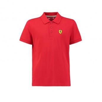 Ferrari dziecięca koszulka polo Classic red F1 Team 2018