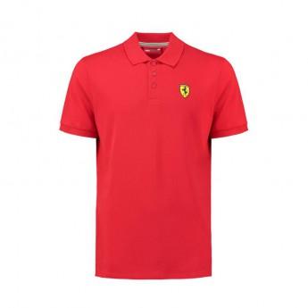 Koszulka Polo męska Classic czerwona Ferrari F1 Team 2018