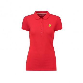 Ferrari damska koszulka polo Classic red F1 Team 2018