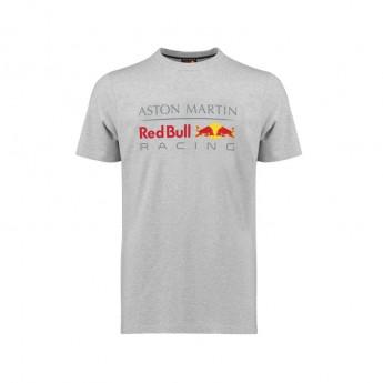 Red Bull Racing koszulka męska Large Logo grey 2018