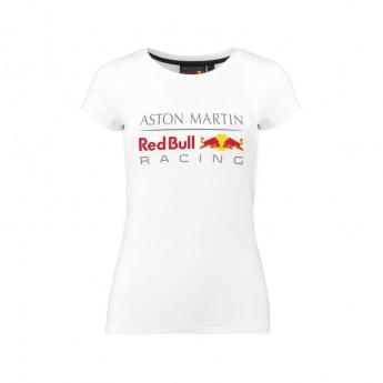 Koszulka T-shirt damska Large Logo biała Red Bull Racing 2018