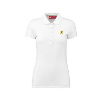 Polo Damskie Classic białe Ferrari F1 Team 2018