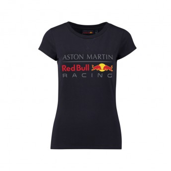 Red Bull Racing koszulka damska Large Logo dark blue 2018