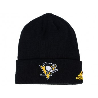 Pittsburgh Penguins Czapka zimowa adidas NHL Basic Cuff Knit BLK