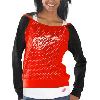Detroit Red Wings Komplet damskich t-shirtów Holey Long Sleeve Top and Tank Top II Set