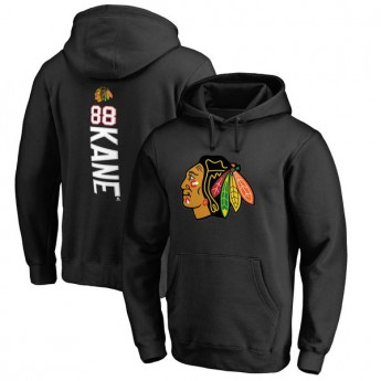 Chicago Blackhawks męska bluza z kapturem black Patrick Kane #88 Name & Number