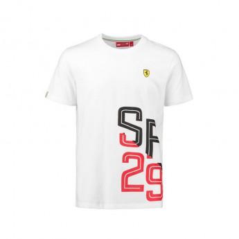 Koszulka T-shirt męska biała SF 29 Scuderia Ferrari F1 Team 2018