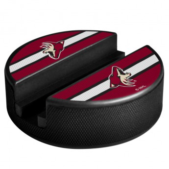 Arizona Coyotes uchwyt na telefon Puck Media Holder