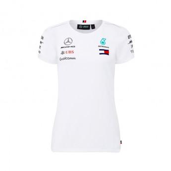 Mercedes AMG Petronas koszulka damska white F1 Team 2018